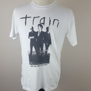 Train Summer 2010 Tour Music Band T-Shirt Large